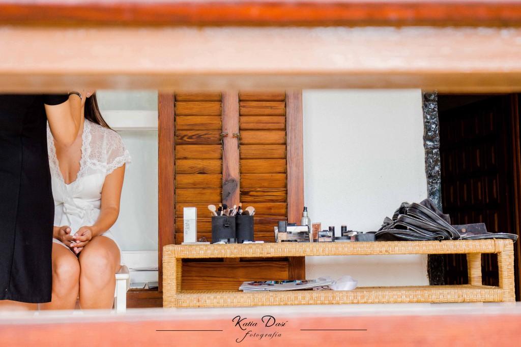 Ana Albiol maquillaje novia