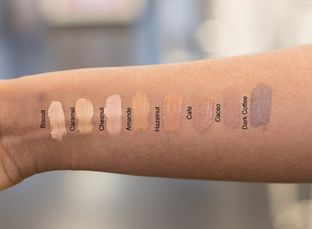 radiant creamy concealer nars review swatches tonos